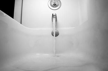 AAA Drain Cleaning Slow Draining Bathtub tub